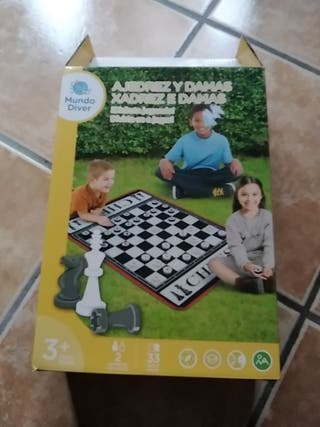 ajedrez y damas nuevo