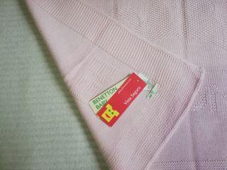 Manta de lana marca Benetton \ Nueva