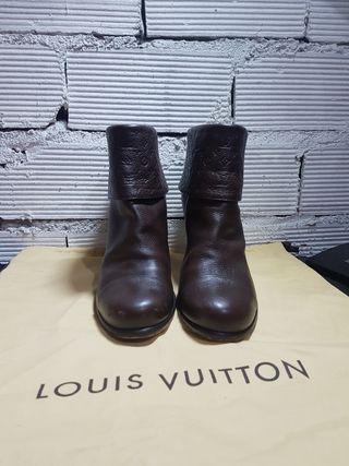 Botin de piel Louis Vuitton