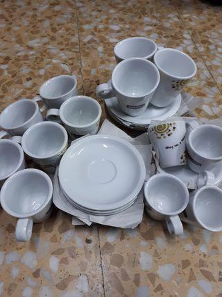 Tazas de cafe para bares