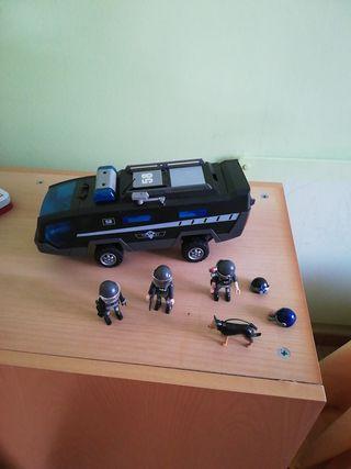 coche swat Playmobil