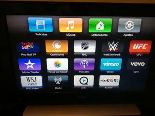 TV y Apple tv