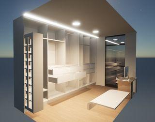 Diseño interior 3D personalizado.