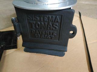 Estufa policombustible Sistema Tomas