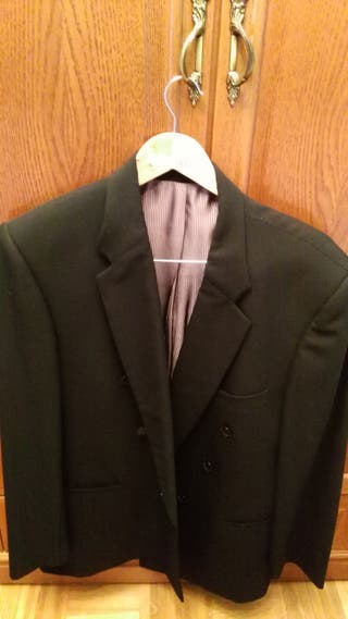 americana negra de cruzar, talla L, pura lana virg