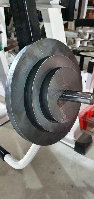 discos gimnasio pesas