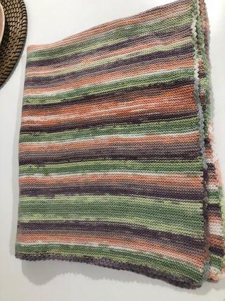 Mantas de lana hechas a mano