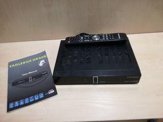 Decodificador satelite Eaglebox HD800