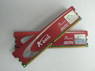 Pack 4Gb Memorias RAM DDR2 800Mhz