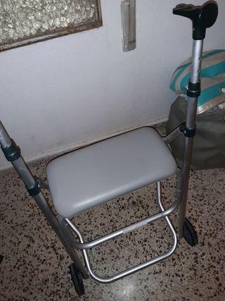 andador con asiento