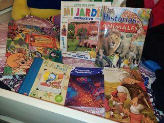 lote de libros infantiles juveniles