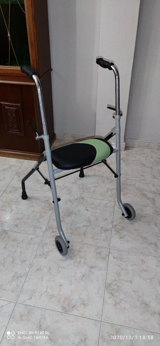 silla andador con asiento