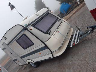 caravana hobby 750 kg con documentacion
