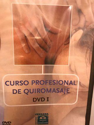 Curso profesional de quiromasaje dvd