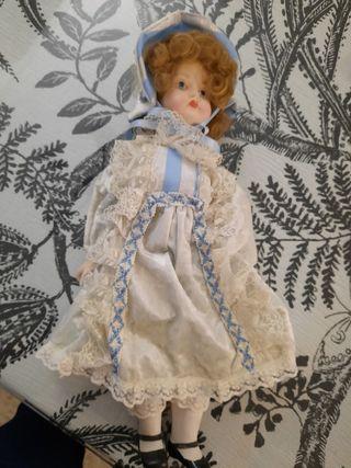 Muñeca de Porcelana R. Inglés