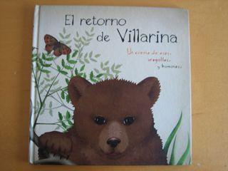Libro infantil El retorno de Villarina