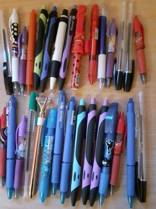 Lote de 30 bolígrafos nuevos