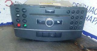 Radio c220cdi w204