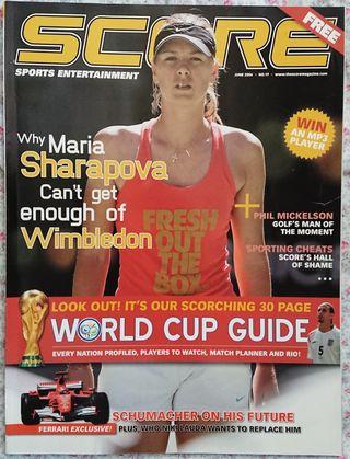 revista deporte SCORE mundial fútbol alemania 2006