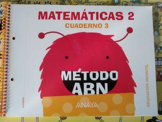 Libro de texto Matemáticas 2- Método ABN (Anaya)