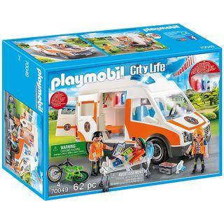 Ambulancia Playmobil 70049