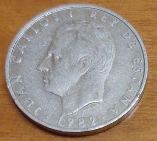Moneda de 2 pesetas.