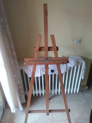 Caballete de pintor/a