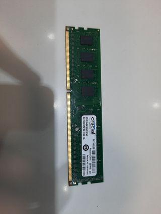 Memoria RAM 8gb