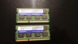 8GB RAM DDR3 ADATA