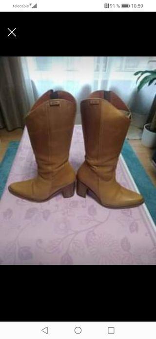 botas de mujer número 38