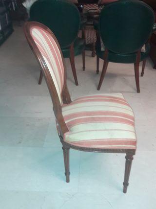4 sillas comedor Estilo Luis XVI