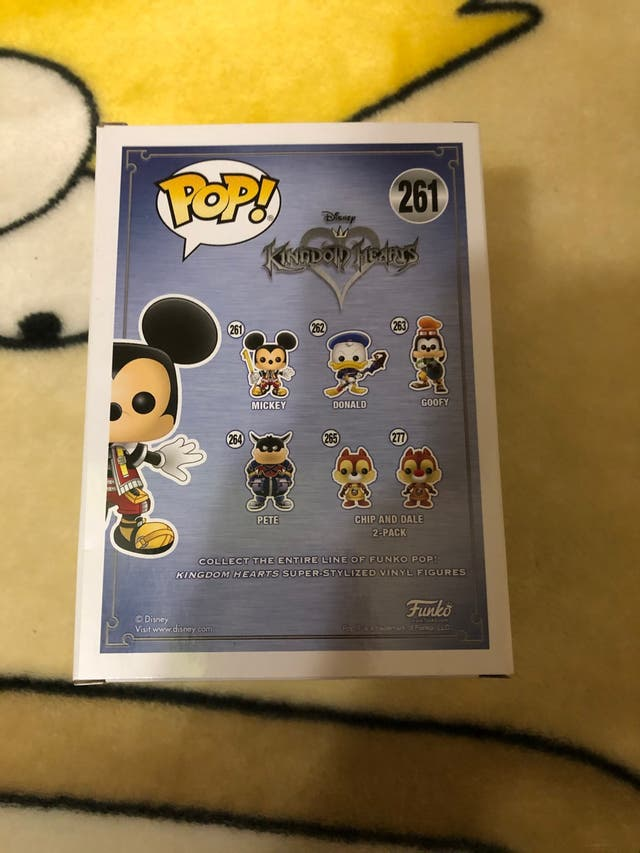 2 Funko Pop Disney Kingdom Hearts Mickey y Goofy