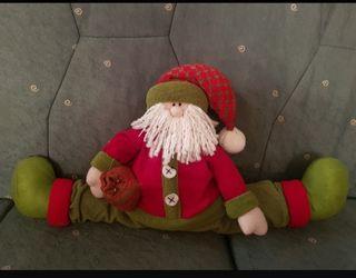 Muñeco burlete de navidad