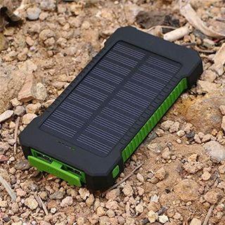 Solar Batería portátil impermeable 20000