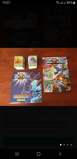 invizimals desafíos +300 cartas
