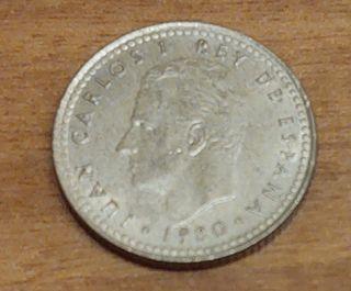 Moneda de 1 peseta.