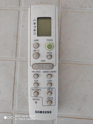 Mando de aire acondicionado Samsung