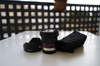Samyang 12mm f/2.0 NCS CS para Fujifilm X Mount