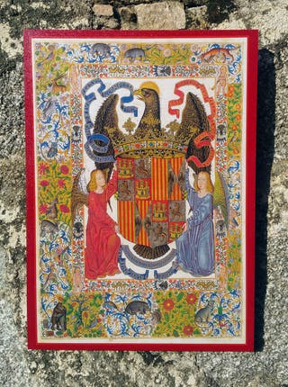 Cuadro escudo Reyes Católicos