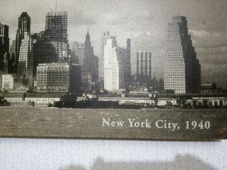 FOTO MURAL NEW YORK 1940