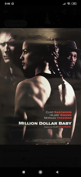 Póster Million Dollar Baby