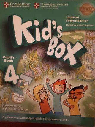 Kid's Box, Pupil's Book 4