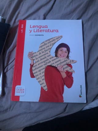 Libros de 1 de la eso de lengua y literatura