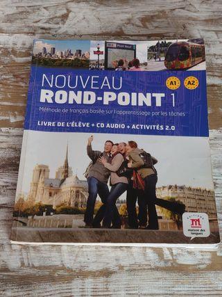 Nouveau Rond Point 1 / Francés / Libro + Cd
