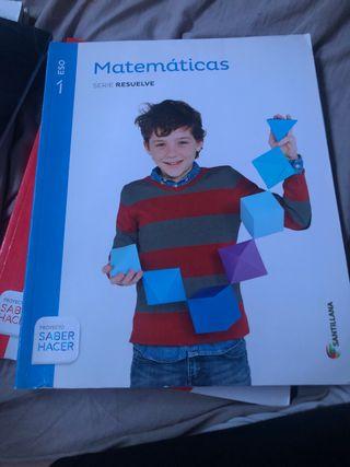 Libro de 1 de la eso de matemáticas