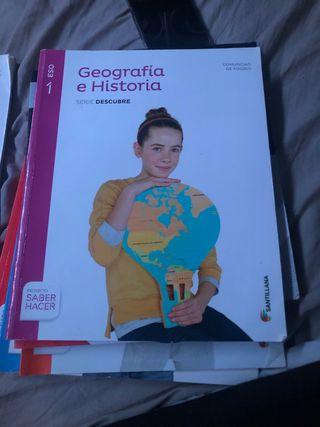 Libro de 1 de eso geografía e historia