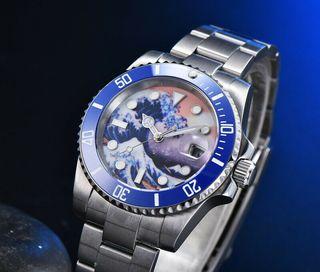 reloj Diver Gran Ola de Kanagawa