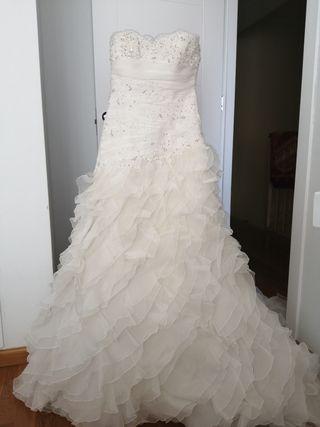 vestido de novia de Pronovias precio a convenir