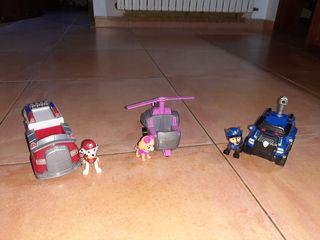 Muñecos patrulla canina + vehiculo