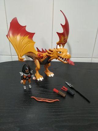 Playmobil 5483. (dragón de fuego)